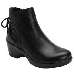 Alegria Stevee Roacknrolla Women's Black Ankle Boot STE-598