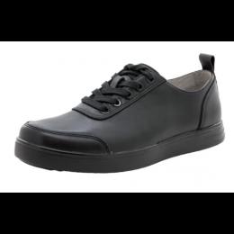 Alegria Black Tumbled Stretcher Mens Shoes STR-9001