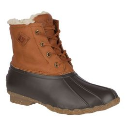 Sperry Tan Saltwater Winter Luxe Womens Duck Boots STS84371