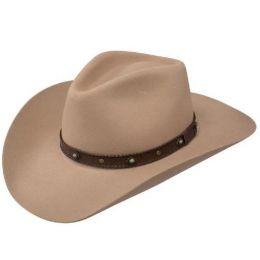 SBSSRD-4134 Tan Sunset Ride Buffalo Felt Western Stetson Hat