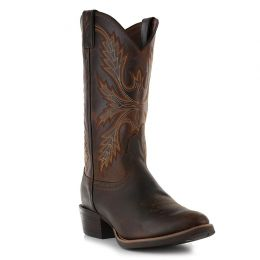 SV2566 Antique Silver Collection Buffalo Justin Men's Western Boots