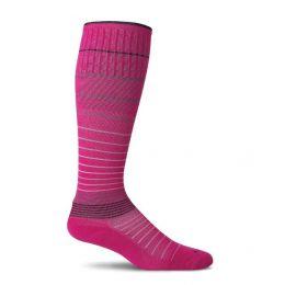 SockWell Azalea Pink Womens Circulator Graduated Compression Socks SW1W-560
