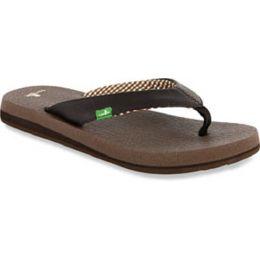 SWS2908 Brown YOGA MAT Comfort Sanuk Womens Sandals