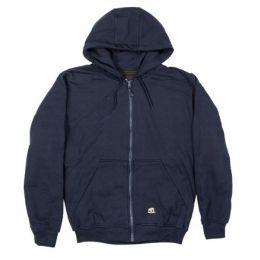 Berne Navy Mens Orginal Hooded Sweatshirt SZ101