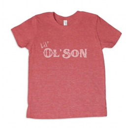 Dale Brisby Red Lil' Ol' Son Kids Tee Shirt T-K09