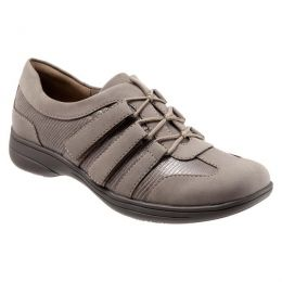 Trotter Joy Taupe Lizard Adjustable Strap Comfort Shoes T1855-117