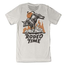 Dale Brisby Rodeo Time Rope Tee T- 53