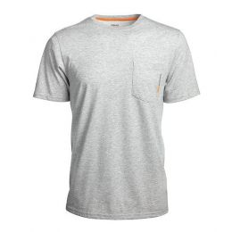 Timberland Pro Grey Base Plate Blended Short Sleeve T-Shirt TB0A1HNSC81
