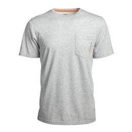 Timberland Pro Mens Sandstone Base Plate Blended Short Sleeve T-Shirt TB0A1HNSC81