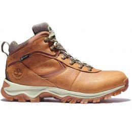 Timberland Light Brown Full-Grain Mt. Maddsen Waterproof Mid Mens Hiking Boots TB0A1J1N230