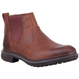 Timberland Brown Full Grain Logan Bay Chelsea Mens Boots TB0A1V4Z358