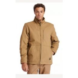 Timberland Pro Dark Wheat Gritman Lined Hooded Canvas Mens Jacket TB0A1VB7D02