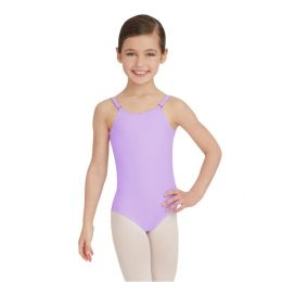 Capezio Vibrant Violet Adjustable Strap Team Basic Childrens Camisole Leotard TB1420C-VBV