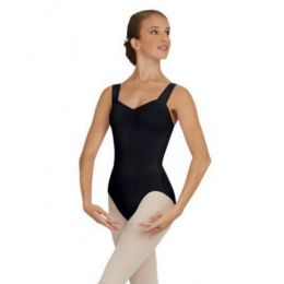 Capezio Wide Strap Pinched Front And Back Adult Leotard TC0053W