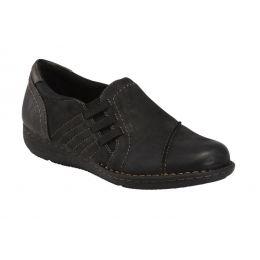 Earth Black Tamara Teri Womens Slip On Comfort Shoes