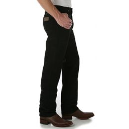936WBK Shadow Black Wrangler Men's Cowboy Cut Slim Fit Jeans