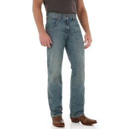 WRT30AT Antique Denim Retro Straight Leg Wrangler Mens Jeans