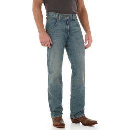 WRT30AT Antique Denim Retro Straight Leg Wrangler Mens Jeans