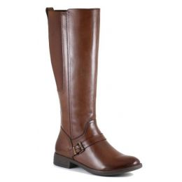 Bussola Women's Luggage Tatiana Tall Boot TATIANA