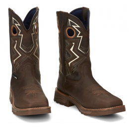 Tony Lama Brown Force Comp Toe Men's Boots TW3403FORCE