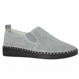 Bernie Mev Grey Women's Slip-On Sneaker TW98