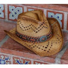 California Hat Company Tea Stain Toyo Cowboy Hat TX-171