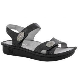 VIE-871 Vienna Cowgirl Tar Womens Comfort Adjustable Strap Alegria Sandals