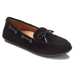 Vionic Black Virginia Womens Comfort Moccasin VIRGINIA-BLK