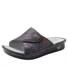 Alegria Multi Vivica Chirpy Womens Slide On Comfort Sandals VIV-889