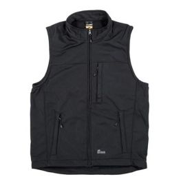 Berne Workwear Men's Black Wildhorn Softshell Vest VS200