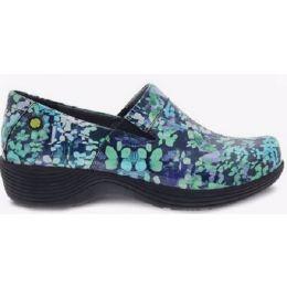 Dansko Multi Coral Meadow Patent Women's Comfort Shoes W006-700200