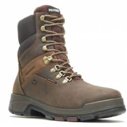 Wolverine Brown Cabor EPX Men's 8 inch Waterproof Soft Toe Work Boots W10317