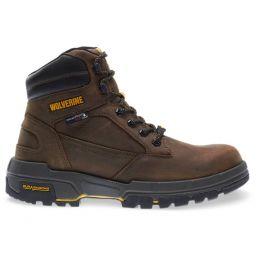 W10656 Brown Legend LX Durashocks Waterproof Carbonmax Mens Wolverine Work Boots