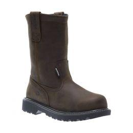 Wolverine Brown Floorhand Waterproof Steel Toe Mens Wellington Work Boots W10680