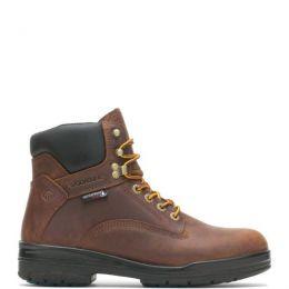 Wolverine Dark Brown Durashocks SR 6 inch WP Mens Work Boots W210048
