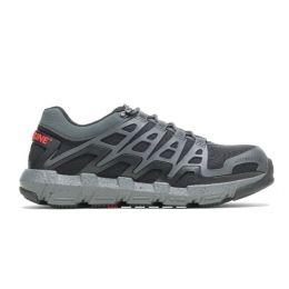 Wolverine Charcoal Rev Durashocks Lo Safety Toe Mens Athletic Shoes W211016