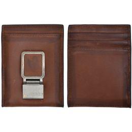 W664 3D Brown Basic Bifold Wallet