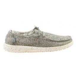 Hey Dude Linen Iron Womens Comfort Shoe 121533901