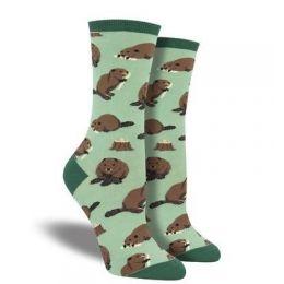 SockSmith Green Womens Dam It Socks WNC1765