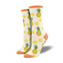 SockSmith Women's Partial To Pineapples Socks WNC2016