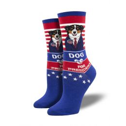 SockSmith Women's Dog For President Socks WNC2037