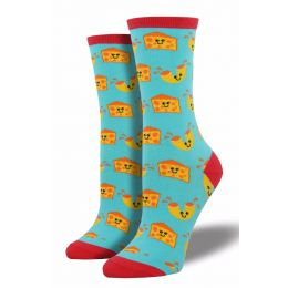 SockSmith Womens Mac 'N Cheese Socks WNC434-BGB