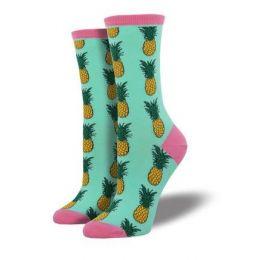 SockSmith Winter Green Womens Pineapple Socks WNC578