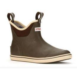 XTRATUF Women's Brown 6 Inch Ankle Deck Boot XWAB-900