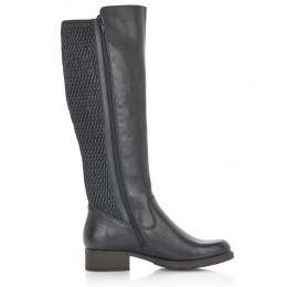 Rieker Black Faith Womens Riding Boots Z9591-00