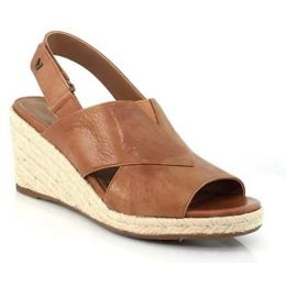 Vionic Zamar Women's Toffee Wedge Sandal