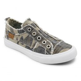 Blowfish Grey Camo Play Womens Comfort Casual Shoes ZS0061
