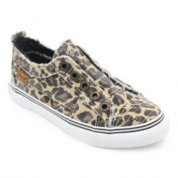 Blowfish Cheetah Print Kids Play Casual Slide On Shoes ZS-0061K
