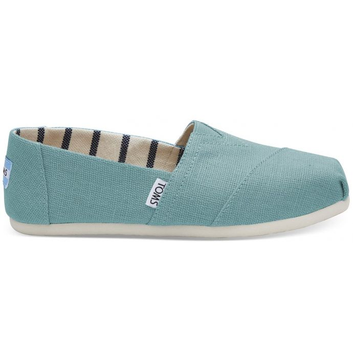 e93d3c4be4 Home; Toms Marine Blue Heritage Canvas Womens Classic Slip-On Shoes  10011663. Skip to the end of the images gallery