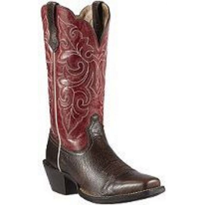 b815aabee40 10011890 ROUND UP Brown Ariat Womens Western Cowboy Boots